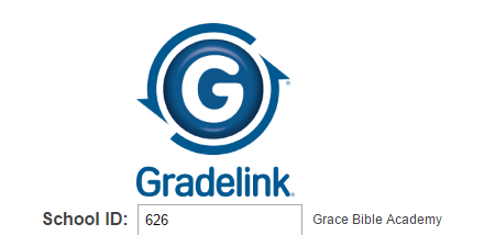 Click here to go to Gradelink login